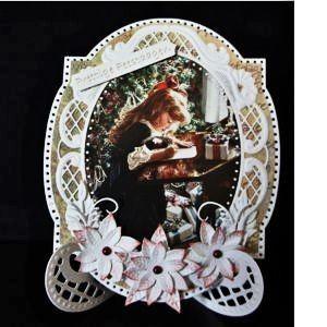 Voorbeeldkaart - Fantasie Kerst - Categorie: Figuurkaarten - Hobbyjournaal uw hobby website
