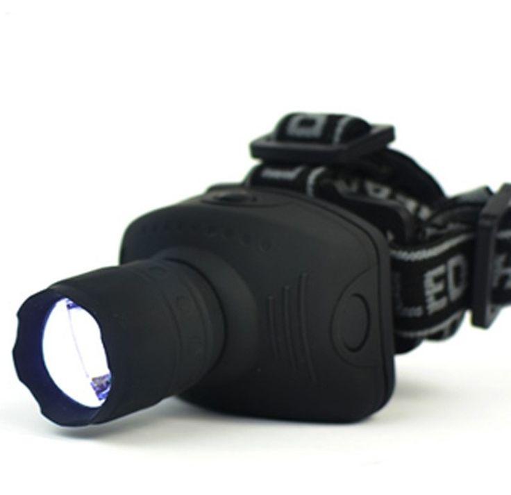 600 Lúmenes LED linterna antorcha lámpara Linterna Frontal Linterna de Zoomable Luz Para Bicicleta Para Camping Caza Pesca ZK90