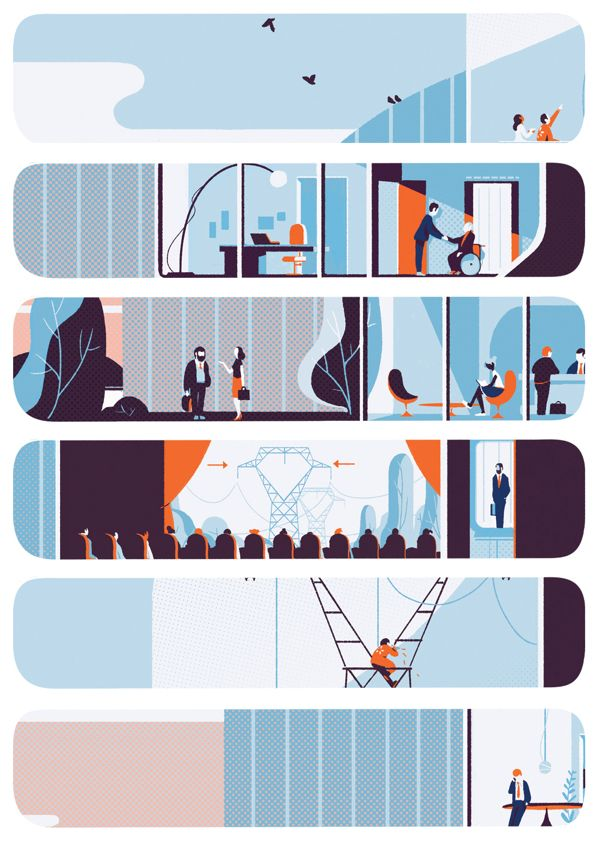 EDF by Tom Haugomat, via Behance