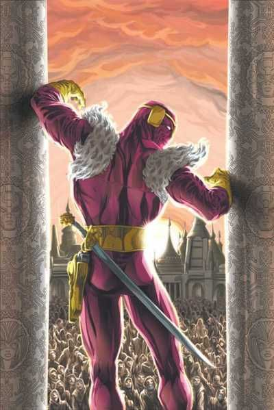 Baron Helmut Zemo - fall in a vat of acid which resulted in facial disfigurement, Zemo wears a mask.