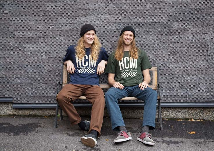 RCM CLOTHING FW14 / Official T-Shirt /  55% hemp 45% organic cotton jersey / Sustainable Hemp Apparel http://www.rcm-clothing.com/