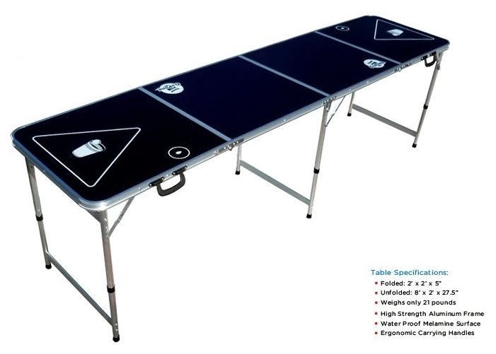 Tailgating beer pong table?