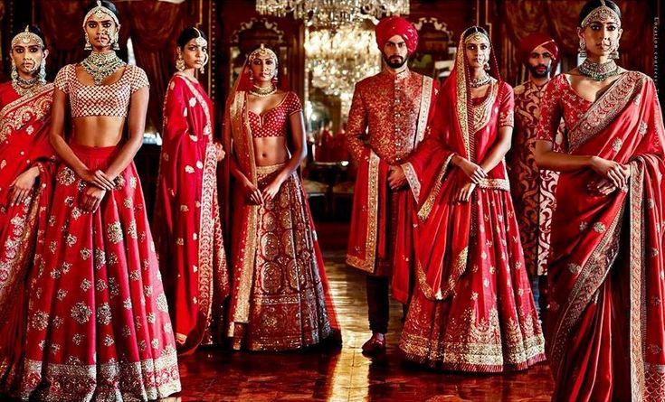 Top 10 Indian Bridal Wear Designers - FashionPro