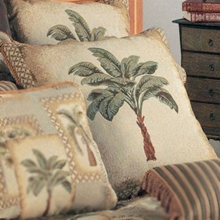 Palm Grove Tropical Palm Tree Comforter Bedding
