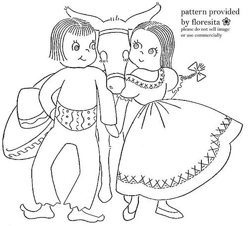 Mailorder - Cute Mexican pattern