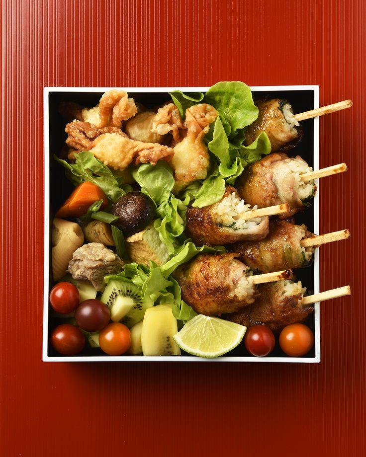 棒肉巻き弁当 / Pork-Wrapped Rice Sticks Bento お弁当を作ったら #edit_jp で投稿してね!