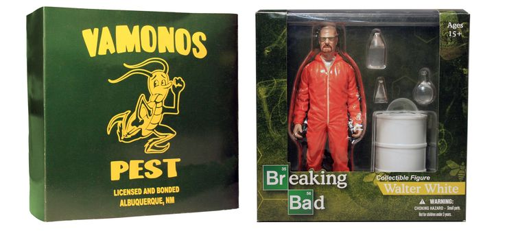 "Breaking Bad 6"" Walter White In Orange Haz-Mat Suit Exclusive Figure"