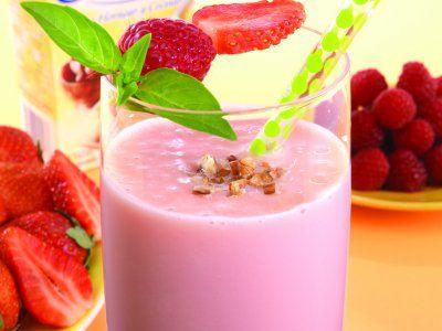 Receta de Batido de Frutas Rojas | Delicioso e inigualable batido de frutas rojas, puedes preparártelo en el desayuno, puébalo, te va a encantar!