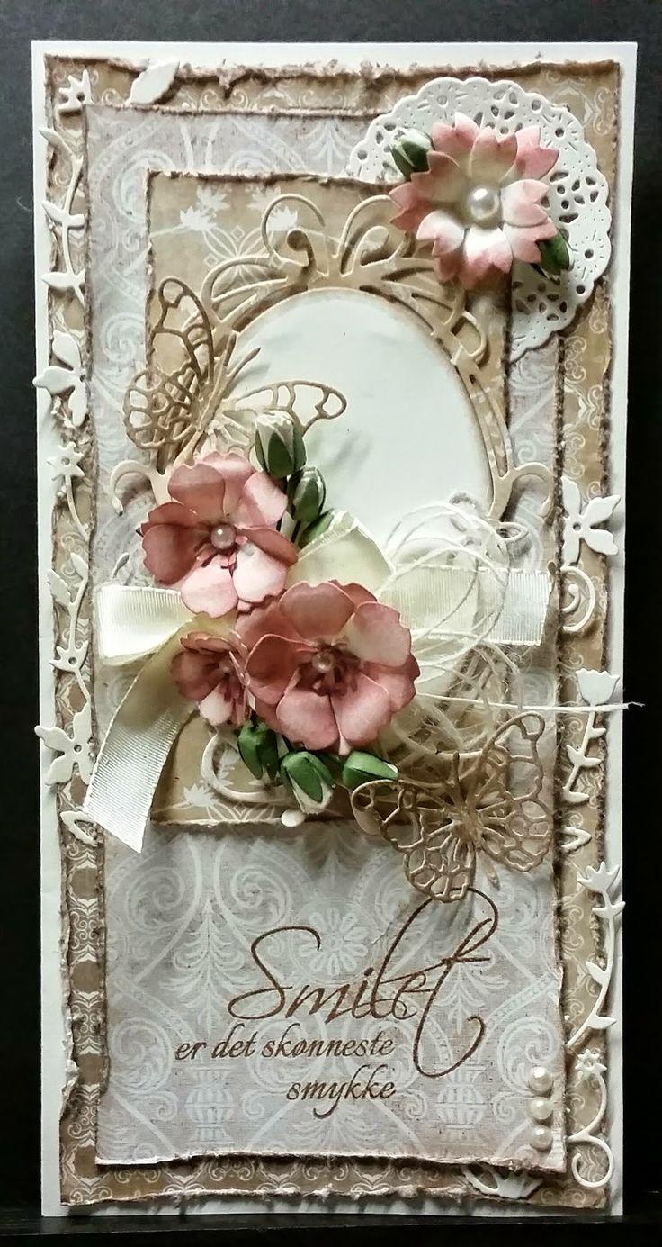 Gorgeous Shabby Chic Handmade Card