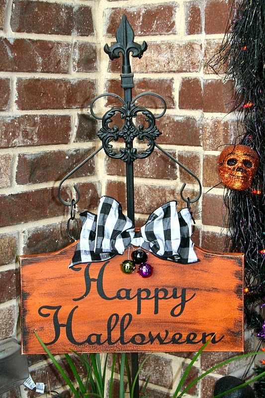 Lookie What I Did: Happy Halloween Front Porch