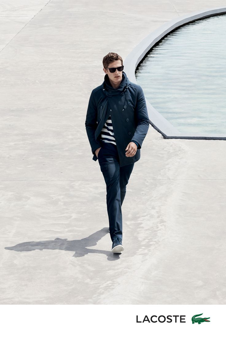 A closer look at the Sailing North menswear Collection by Lacoste.