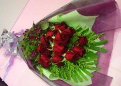 Day 1        12 Roses Bouquet  Day 2        25 Roses Heart Shaped Arrangement  Day 3        50 Roses Arrangement