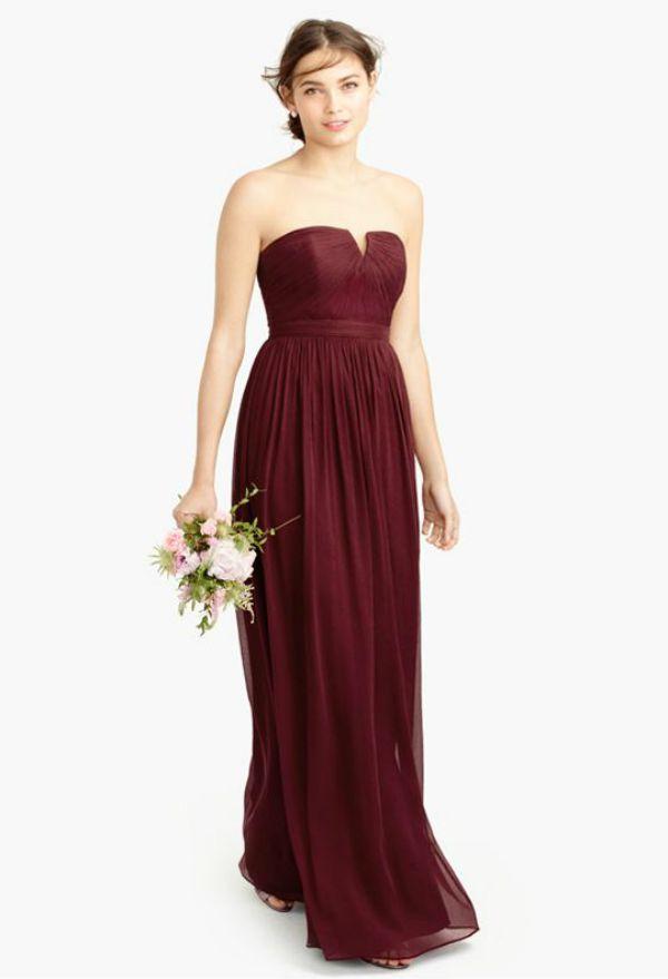 345 best burgundy wedding ideas images on pinterest for J crew daphne wedding dress
