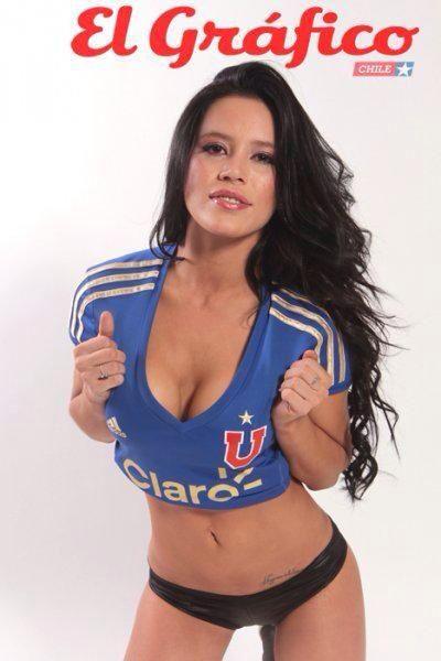 Angie Alvarado se la jugó por #UdeChile vía @ElGraficoChile
