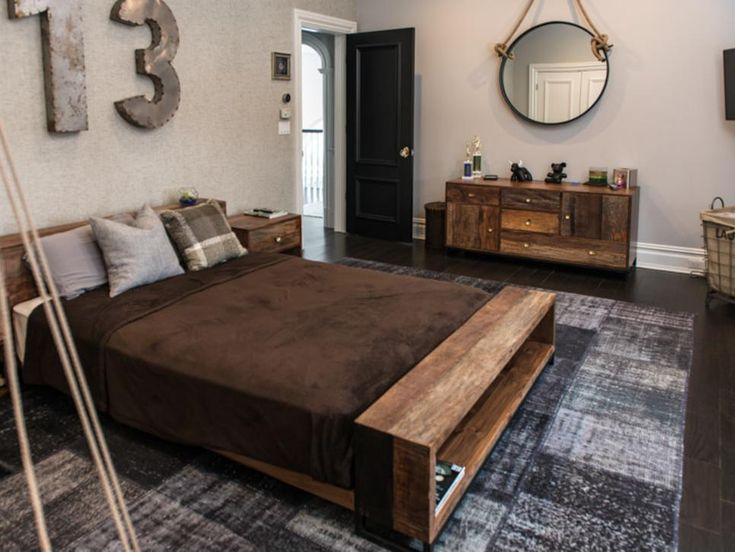 Vintage Rugs Queen Beds And Boy Bedrooms On Pinterest