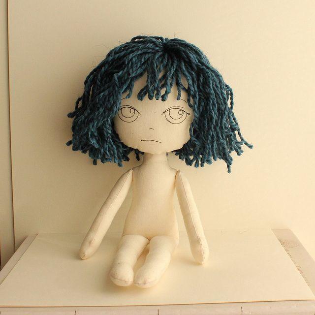 ткани куклу Gingermelon через Flickr