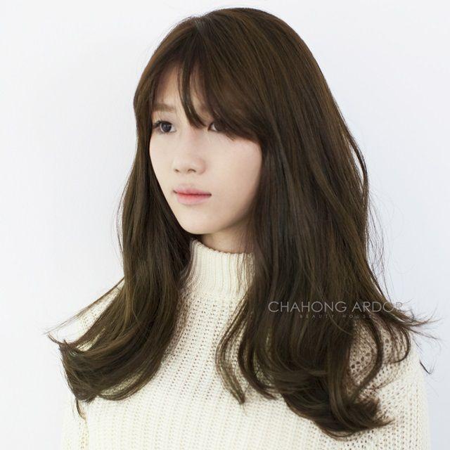 #hair #hairstyle #longhair #long #wave #bold #perm #cut #color