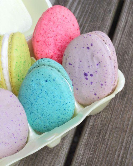 MACARONS DE PASCUA (Easter Egg Macarons) #dulces #ideas
