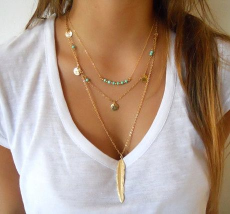 Cheap bar necklace, Buy Quality feather pendant necklace directly from China necklaces for women Suppliers: 	Nickel and Lead Free	Material: Alloy & Crystal & Pearl & Turquoise	Perimeter: 400 - 700 mm	Weight: 6.8 - 12
