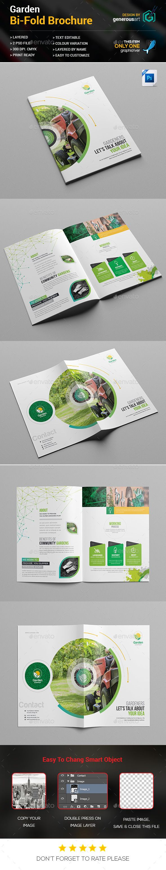 #Garden #Bi-fold #Brochure - Brochures Print Templates