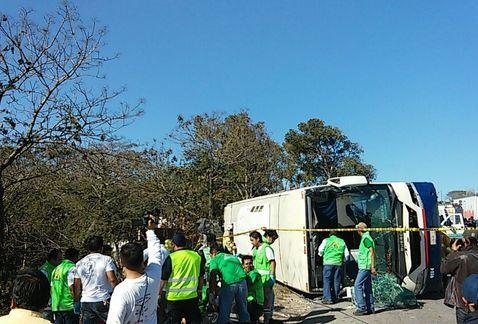 Dos muertos y 32 lesionados deja un choque en Tuxtla Gutiérrez - https://www.notimundo.com.mx/estados/dos-muertos-choque-tuxtla-gutierrez/