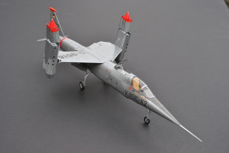 VJ 101C papermodel