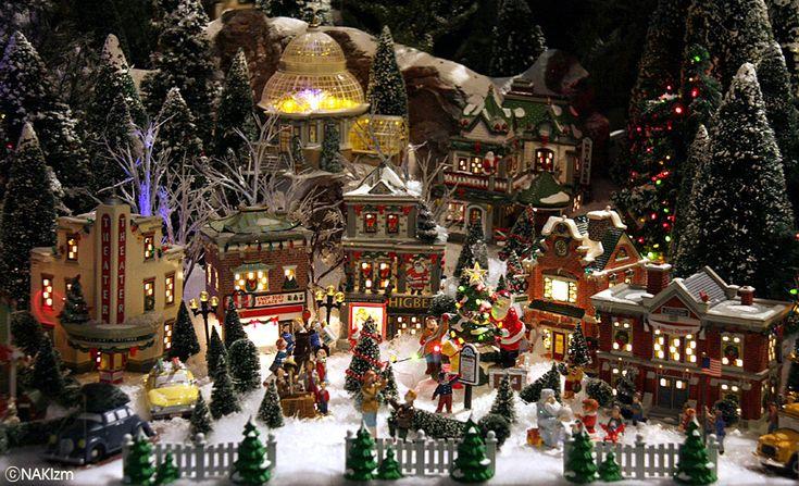 Christmas Diorama Christmas Village Display Christmas