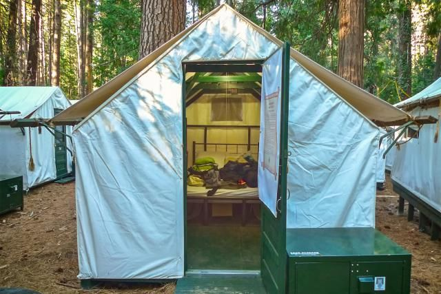 How to Rent a Tent Cabin at Yosemite: An Easy Guide  If you want to rent a tent cabin at Yosemite, you aren't alone. Use these tips to be sure you snag one before they're all booked up.