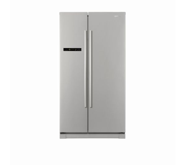 Buy SAMSUNG RSA1SHPN American-Style Fridge Freezer - Platinum | Free Delivery | Currys