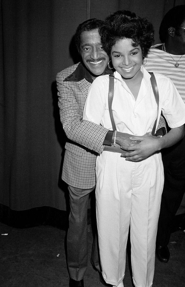 Janet Jackson and Sammy Davis Jr. (1983)