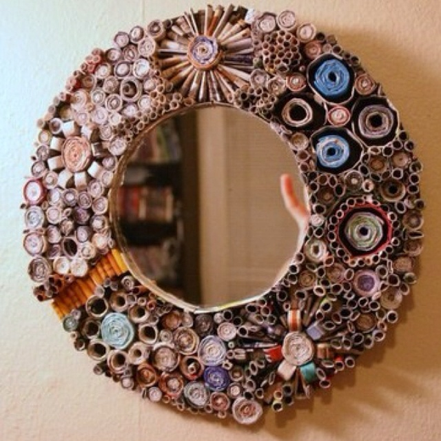 Time consuming, but a if ur like me I have a million old magazines & this is the perfect recycle project!