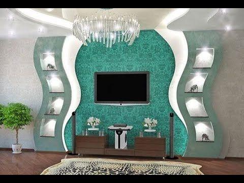 Best 100 Pop Tv Wall Cabinets Designs For Modern Living Room Interior 2019 Catalogue Interior De Tv Wall Design Modern Living Room Lighting Sitting Room Decor