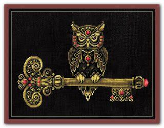 """Вышивалка 刺繍: Схема вышивки """"Сделай своими руками"""" К-36 """"Ключ мудрости"""""""