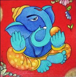Ganesha Painting offered by India Paintings, a leading supplier of God Painting in Miraj, Maharashtra. The company was incorporated in 2005 and is registered with IndiaMART.