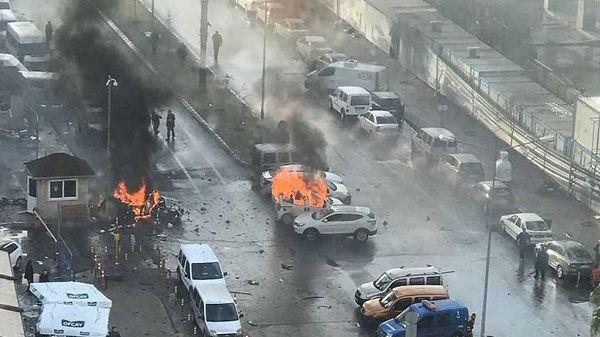 Dejan diez heridos en ataque a ciudad de Turquía