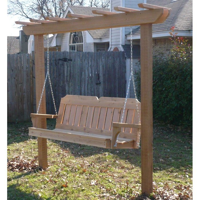 Swing Bench With Stand Off 65, Outdoor Swing Bench With Stand