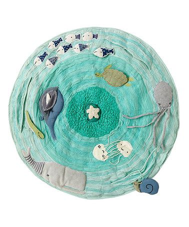 Look what I found on #zulily! Sea Life Activity Play Mat #zulilyfinds