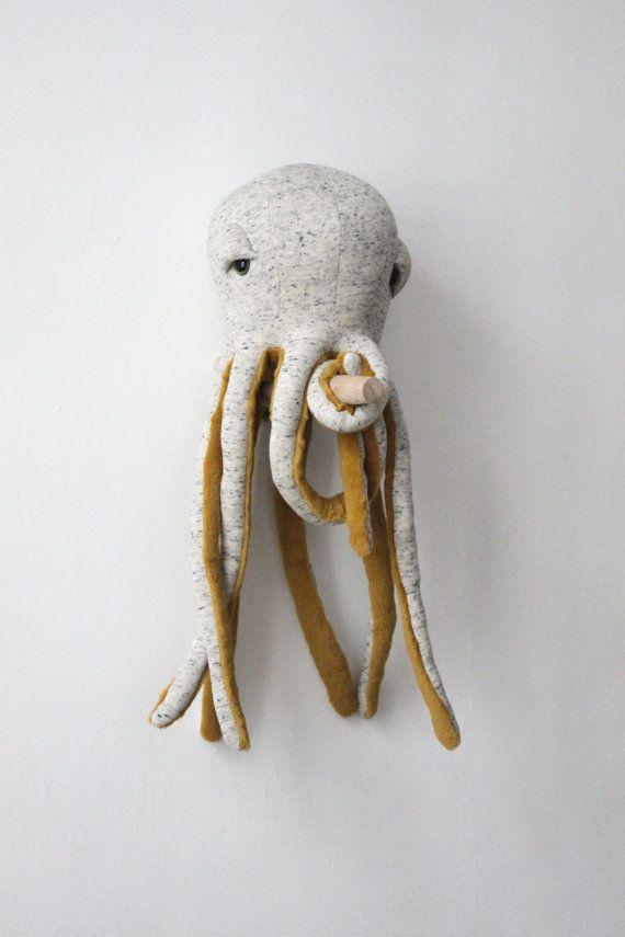 Small Octopus POP O Stuffed Animal O  Plush Toy  by BigStuffed