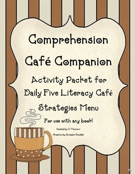 You will love this fantastic resource packet with 20  pages of adorable printable worksheets and activities for Daily Five Cafe Menu Strategies and...