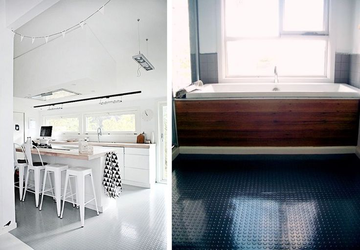 78 best images about rubber flooring on pinterest - Rubber flooring for kitchens and bathrooms ...
