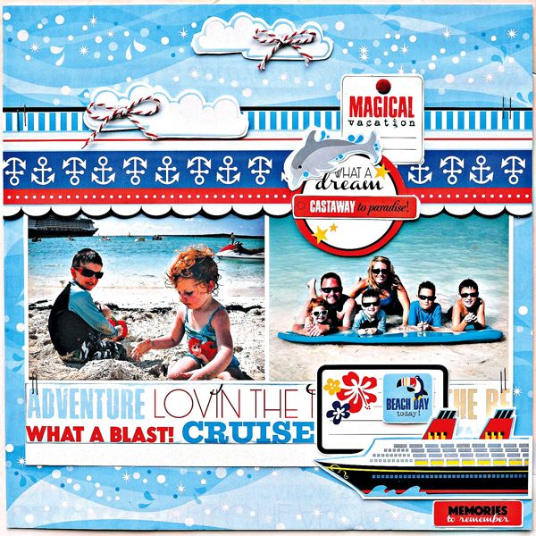 Cruise Scrapbooking Paper Discount Cruise Scrapbooking Supplies www.scrapbookdiscounters.com