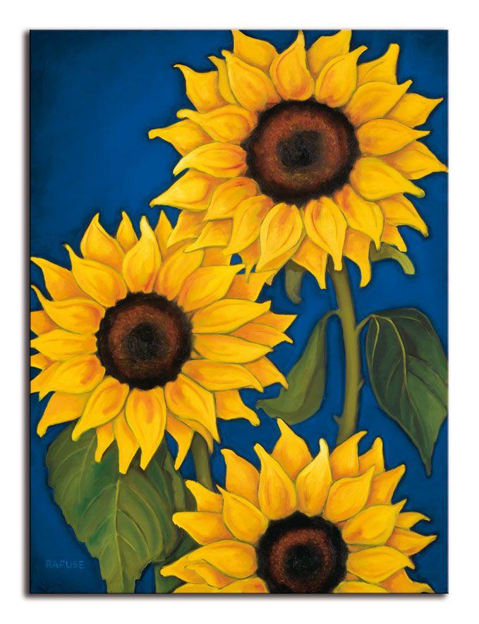 8114 cuadro sunflowers en 2019 pinturas girasol - Ideas para pintar cuadros ...