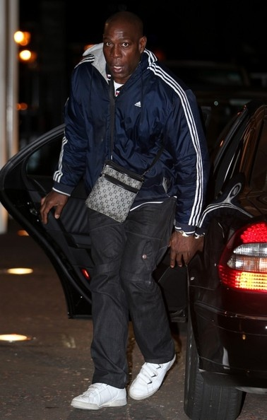 15/10/2012: Frank Bruno seen at the London studios this morning.