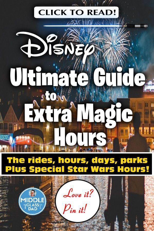 How Does Disney Enforce Extra Magic Hours Disney World Tips