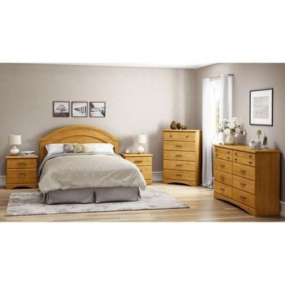 Cabana Country Pine Headboard - South Shore