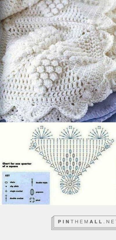 182 best cubrecamas crochet images on Pinterest | Crochet afghans ...
