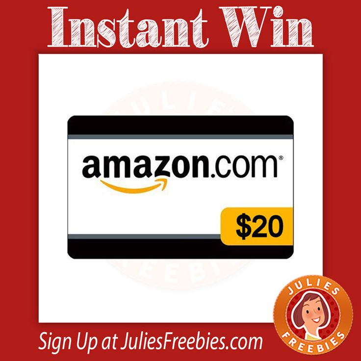 Instantly win a 20 amazon gift card instant win amazon