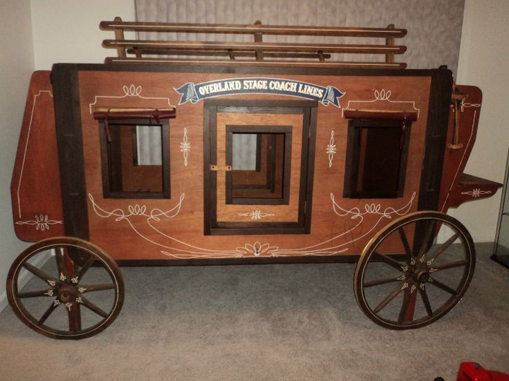 Overland Stagecoach Bunk Bed