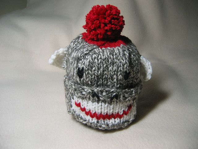 Sock Monkey Hat Knitting Pattern : 261 best images about Knitting Baby Boy on Pinterest Free pattern, Yarns an...