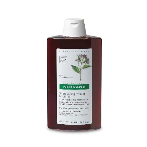 Klorane Shampoo Quinina - 400Ml (Shp Quinine) Shampoo fortificante de quinina con complejo vitamínico B. Actúa directamente sobre la raíz, estimula y favorece el crecimiento de un cabello sano y fuerte. Bálsamo fortificante de quinina con complejo vitamínico B.